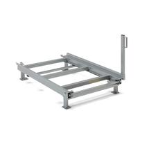 Výsuvný paletový rám, podlahový model, nosnost 700 kg