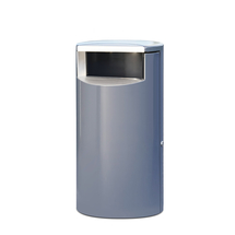 Odpadkový koš Lennox, Ø 400x720 mm, 60 l, šedý