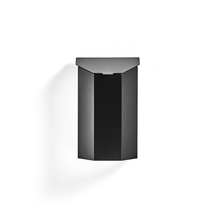 Venkovní odpadkový koš Vinson, s víkem, 40 l