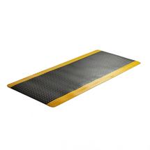 Protiúnavová průmyslová rohož Super, šíře 910 mm, metráž, žlutá, černá