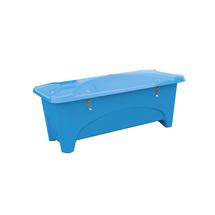 Venkovní úložný box, 475 l, modrý
