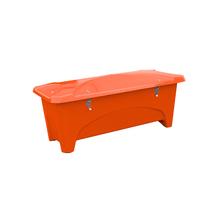 Venkovní úložný box, 475 l, oranžový