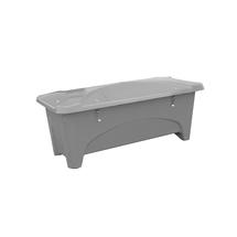 Venkovní úložný box, 475 l, šedý