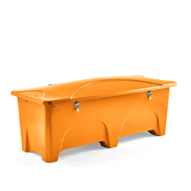 Venkovní úložný box, 1000 l, žlutý