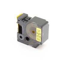 Páska do štítkovačů, černá/žlutá, šíře 24 mm, 5 ks