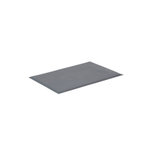 Protiúnavová rohož Support, 950x650 mm, šedá