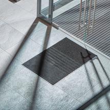 Vstupní rohož Three, 900x1500 mm, černá