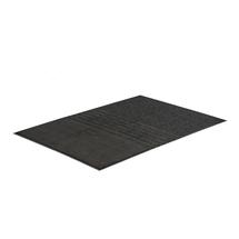 Vstupní rohož Three, 1200x1900 mm, černá