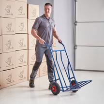 Rudl, 250 kg, pneumatická kola, modrý