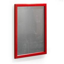 Zaklapávací rám, 500x700 mm, červená