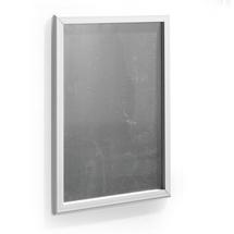 Zaklapávací rám, 700x1000 mm, hliníkově šedá