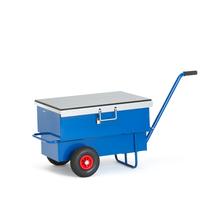 Vozík na nářadí, objem 160 l, 610x600x940 mm