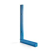 Stojan konzolového regálu Expand, jednostranný, výška 2432 mm, pro ramena 1000 mm