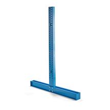 Stojan konzolového regálu Expand, oboustranný, výška 2964 mm, pro ramena 1000 mm
