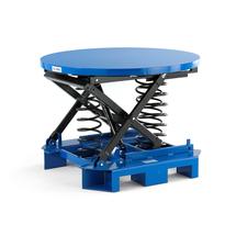 Plošina s automatickým vyrovnáváním výšky, 1110x1110x820 mm