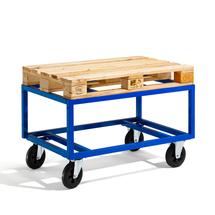 Vozík na Euro palety, 500 kg, 1200x800x655 mm