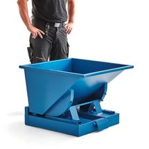 Výklopný kontejner Azure, 150 l, modrý
