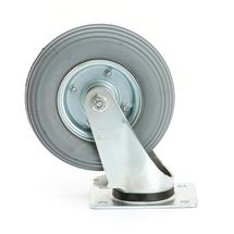 Otočné kolo, 200x50 mm, 75 kg, pneumatické