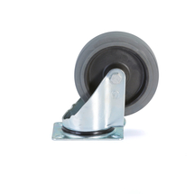 Otočné kolo, 160x42 mm, 300 kg, superelastické gumové