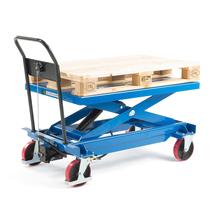 Manuální zvedací stůl, 1000 kg, 1200x800x425 mm