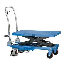 Zvedací stůl, 300 kg, modrý