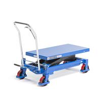 Zvedací stůl, 750 kg, modrý