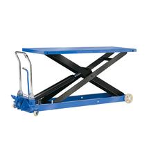Zvedací stůl, 1000 kg, modrý