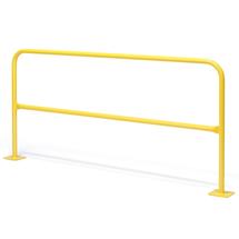 Oblouková zábrana, délka 2000 mm, žlutá