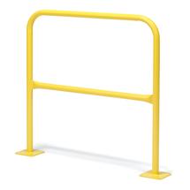 Oblouková zábrana, délka 1000 mm, žlutá