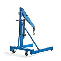 Dílenský jeřáb, 1000 kg, modrý