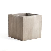 Betonový květináč, 750x750 mm, šedý