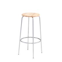 Barová stolička Tim, výška 800 mm, buk