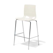 Barová židle Phoenix, bílá