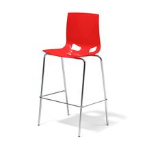 Barová židle Phoenix, červená