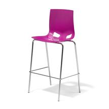 Barová židle Phoenix, purpurová