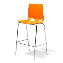 Barová židle Phoenix, oranžová