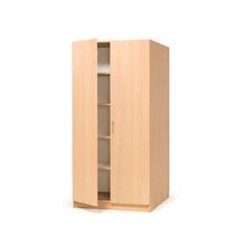 Kancelářská skříň Theo, 2100x1000x600 mm, buk