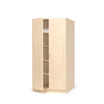 Kancelářská skříň Theo, 2100x1000x600 mm, bříza