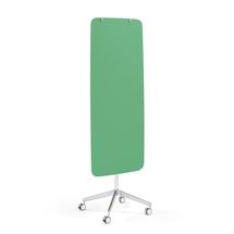 Mobilní skleněná tabule Stella, magnetická, kulaté rohy, zelená