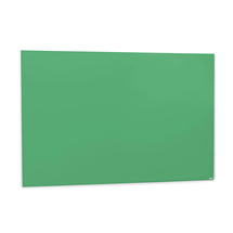 Skleněná magnetická tabule, 1000x1500 mm, zelená