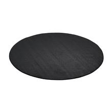 Kulatý koberec Kalle, Ø1500 mm, tmavě šedý