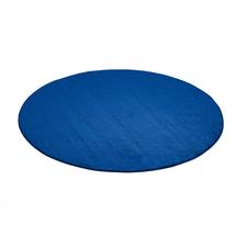 Kulatý koberec Kalle, Ø2000 mm, modrý