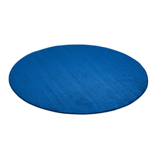 Kulatý koberec Kalle, Ø2500 mm, modrý