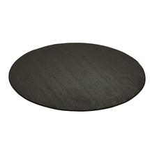 Kulatý koberec Kalle, Ø2500 mm, tmavě šedý