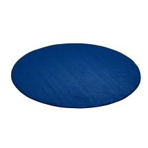 Kulatý koberec Kalle, Ø3000 mm, modrý