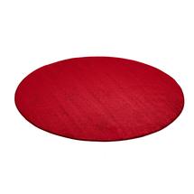 Kulatý koberec Kalle, Ø3000 mm, červený