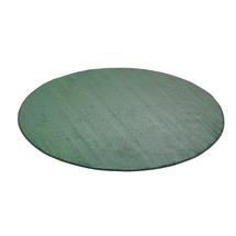 Kulatý koberec Kalle, Ø3000 mm, zelený