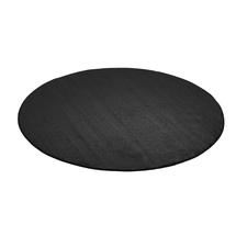 Kulatý koberec Kalle, Ø3000 mm, tmavě šedý