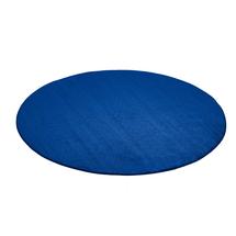 Kulatý koberec Kalle, Ø4000 mm, modrý