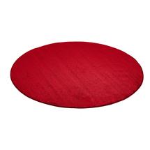 Kulatý koberec Kalle, Ø4000 mm, červený
